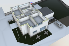 IFC-Modell Vermessungsbüro