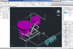 3D-Model in AutoCAD