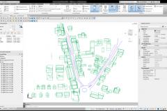 Auswertung 3D-Stadtmodel in AutoCAD